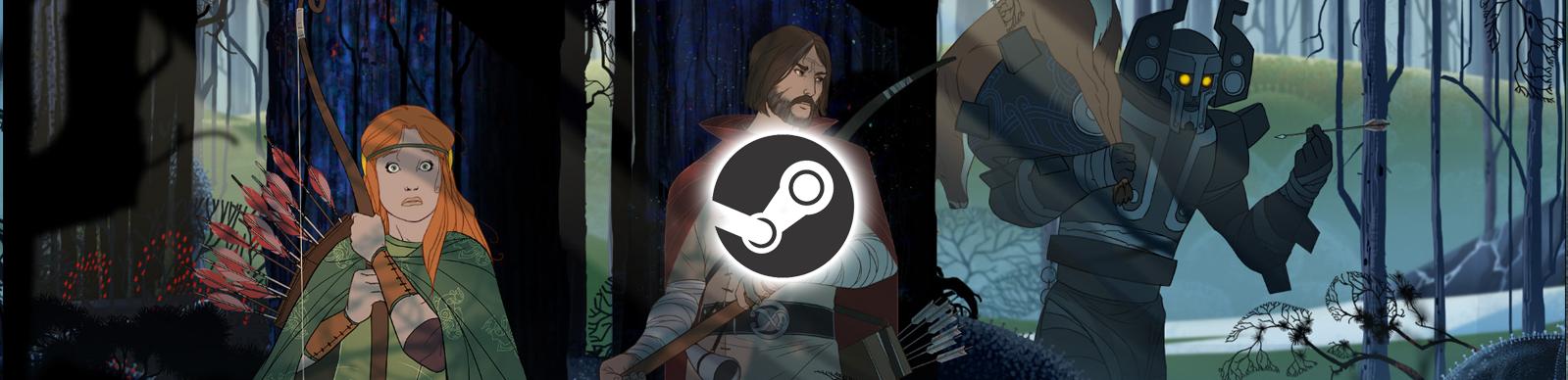 The Banner Saga 50% off on Steam
