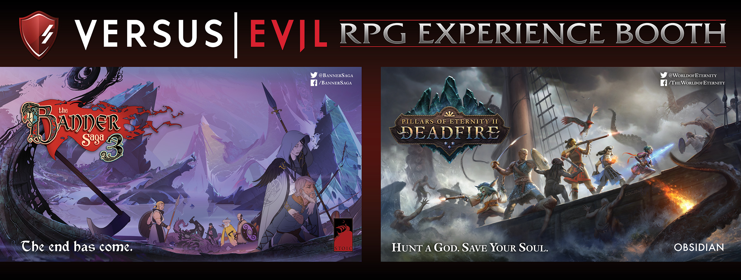 Versus Evil Creates RPG Experience at  PAX East, Boston