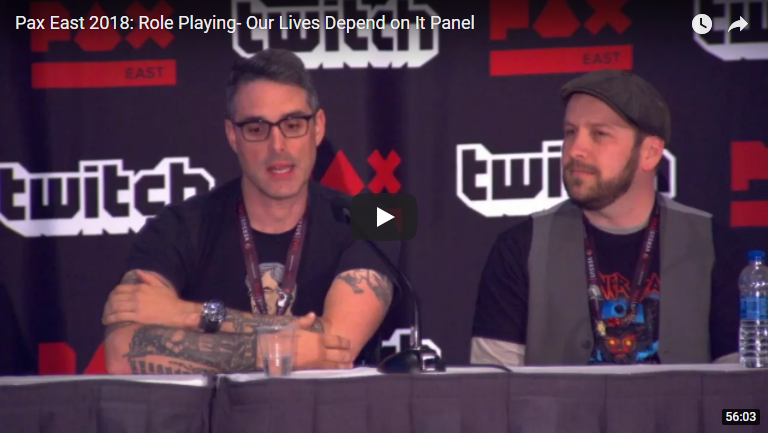 Role Playing –  Our Lives Depend on It PAX East Panel