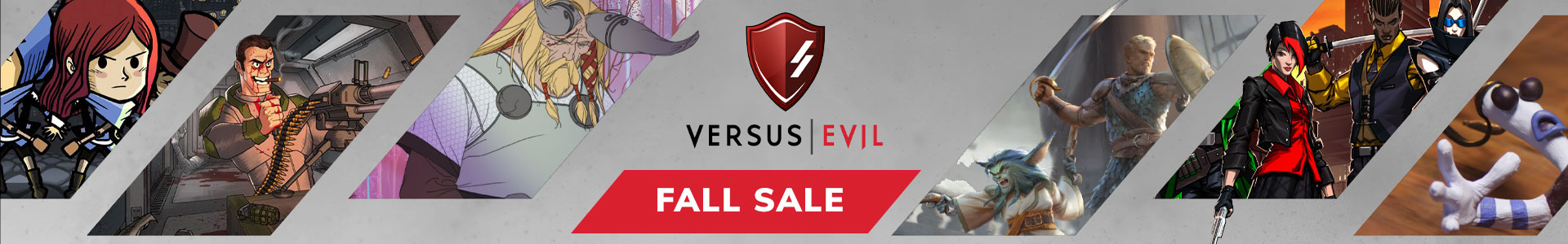 Versus Evil Fall Sale 2018