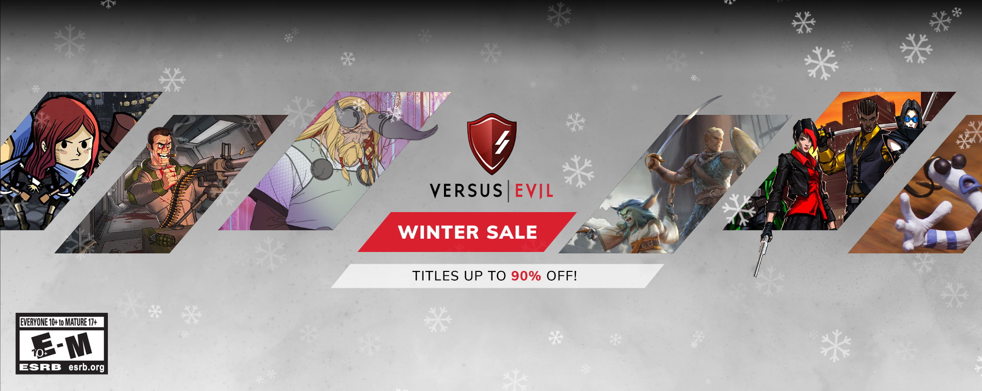 Versus Evil Winter Sale 2018