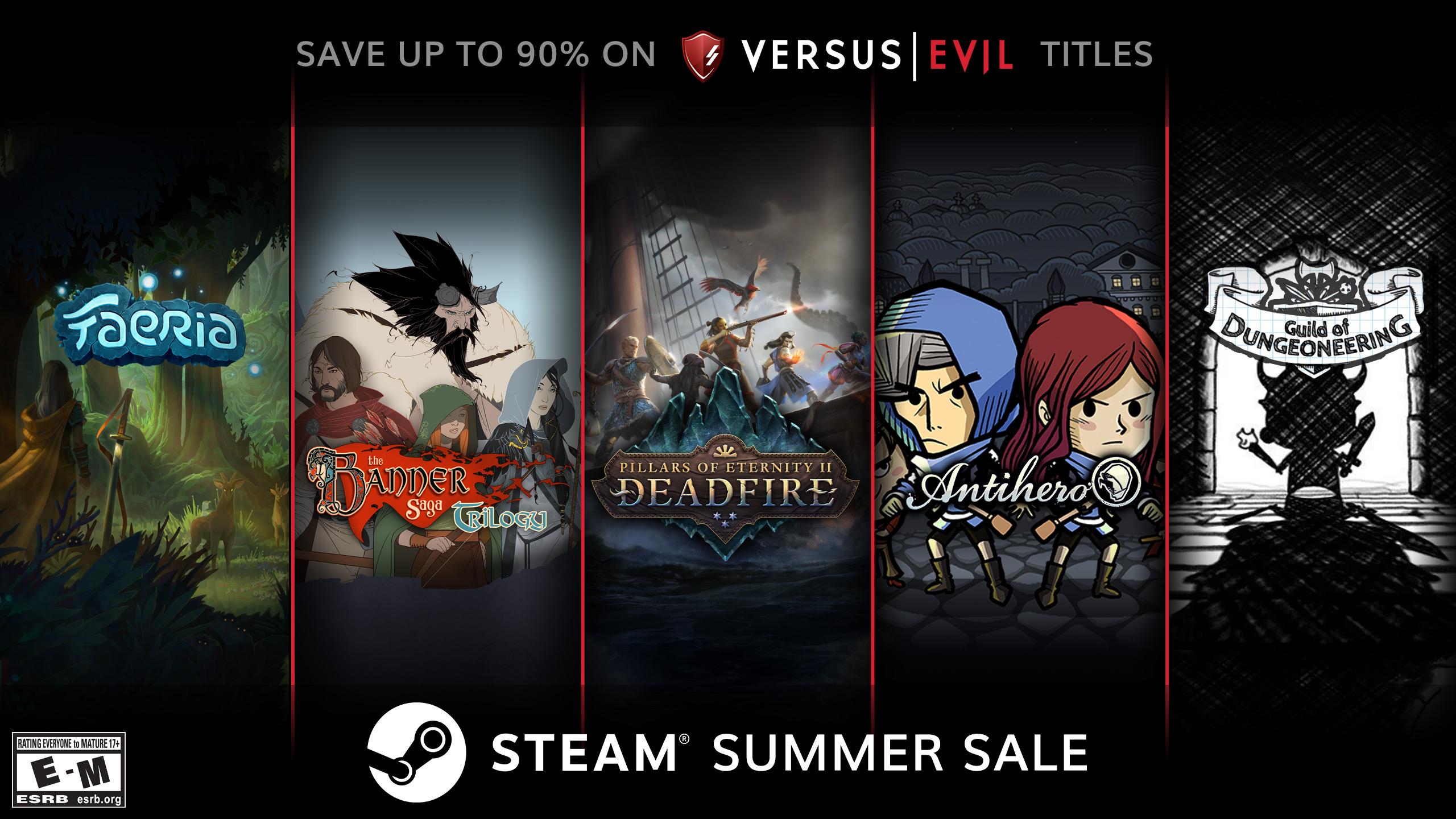 Versus Evil Steam Summer Sale 2019 Deals