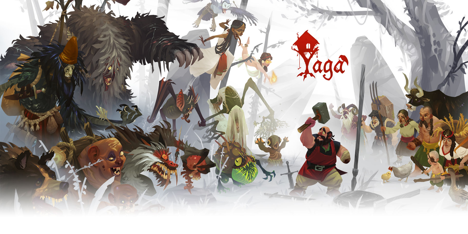 Yaga is Out November 12 on PC and Consoles!