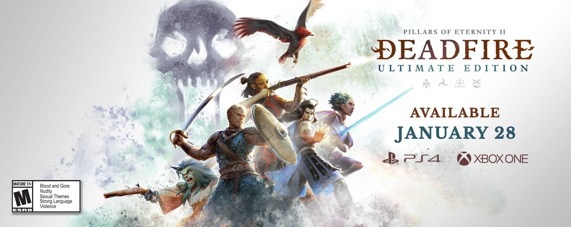 Pillars of Eternity II: Deadfire Console Patch Now Live